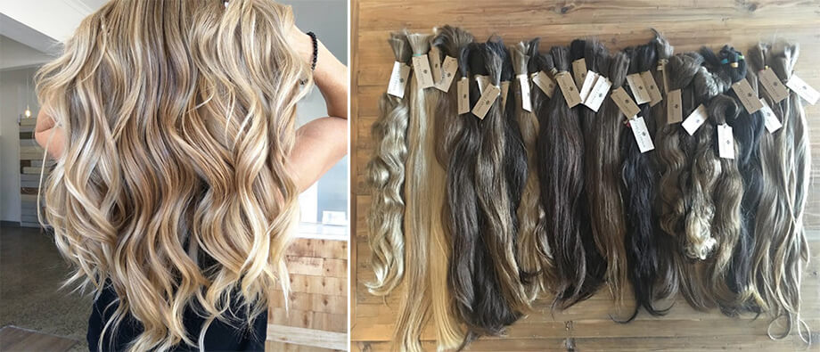 the-real-russian-custom-hand-wefted-extensions-1 - Hand Wefted Extensions in Melbourne