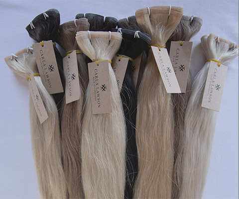 Real & Natural Human Hair Extensions in Melbourne