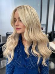 Carla Lawson Hair Colour & Style